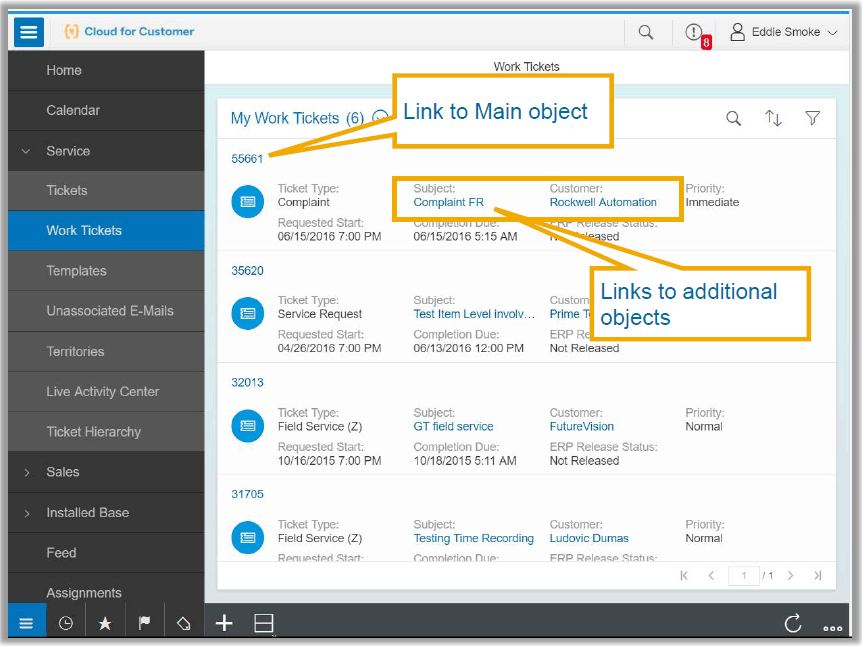SAP ERP 1811 release Cloud for customer