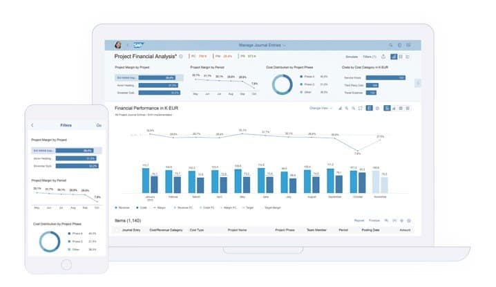 SAP Embedded Analytics implementation
