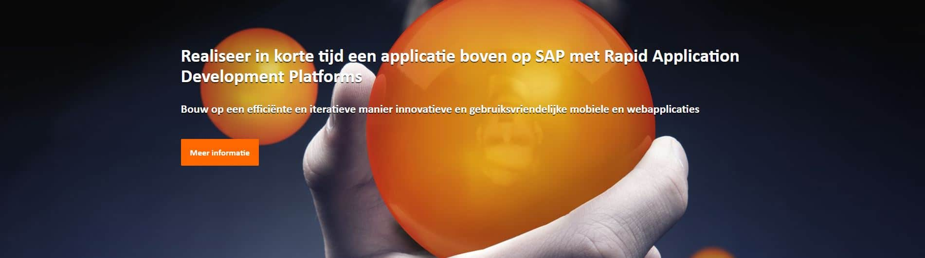 SAP mobile applications Outsystems
