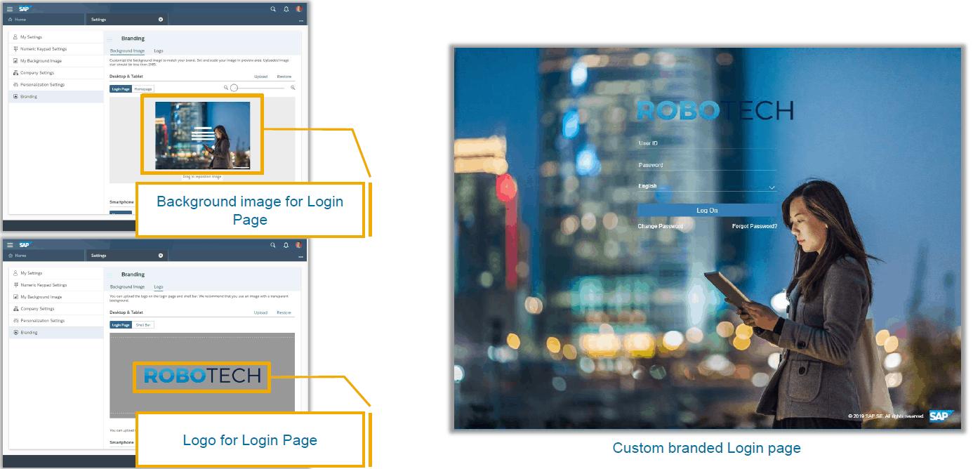 sap change logo theme builder
