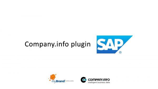 Company info SAP Plugin
