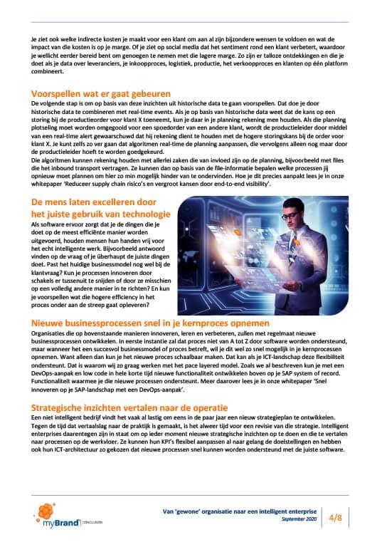 Intelligent enterprise sap systeem