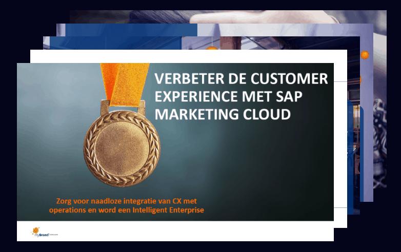 Verbeter de Customer Experience met SAP Marketing Cloud