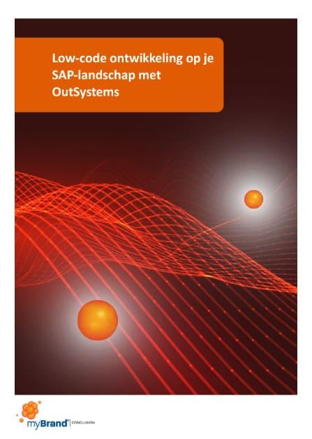 Low-code ontwikkeling op je SAP-landschap met OutSystems whitepaper