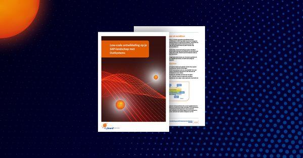 OutSystems Low code SAP ERP