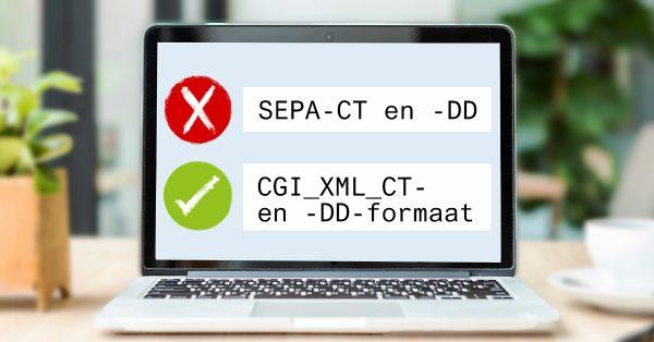 SAP SEPA CT en DD CGI XML CT DD